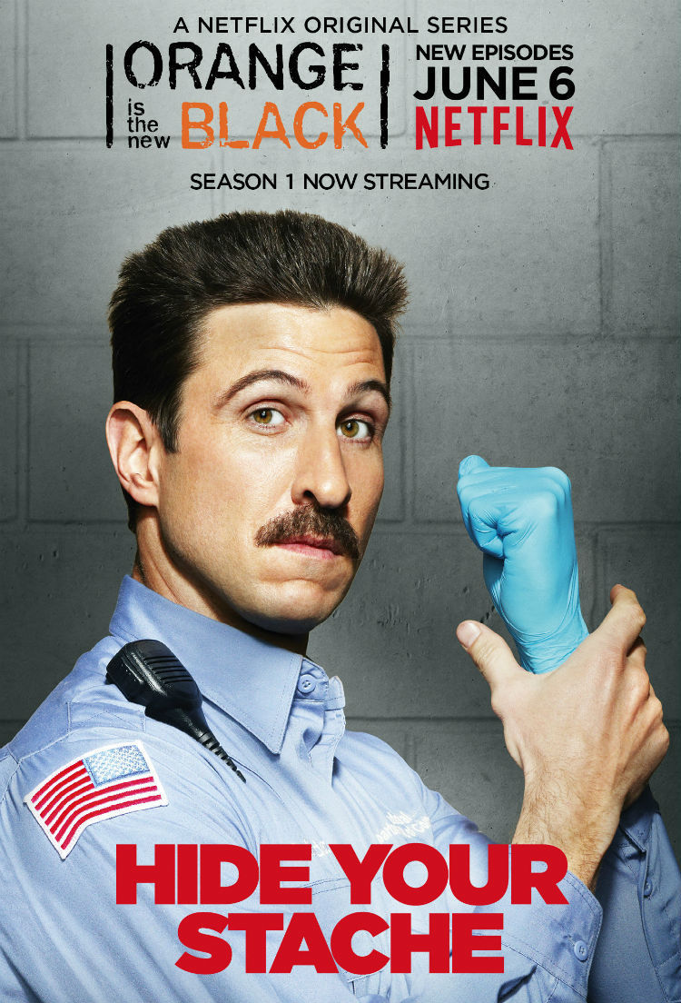 Orange Is the New Black: character poster per Pablo Schreiber