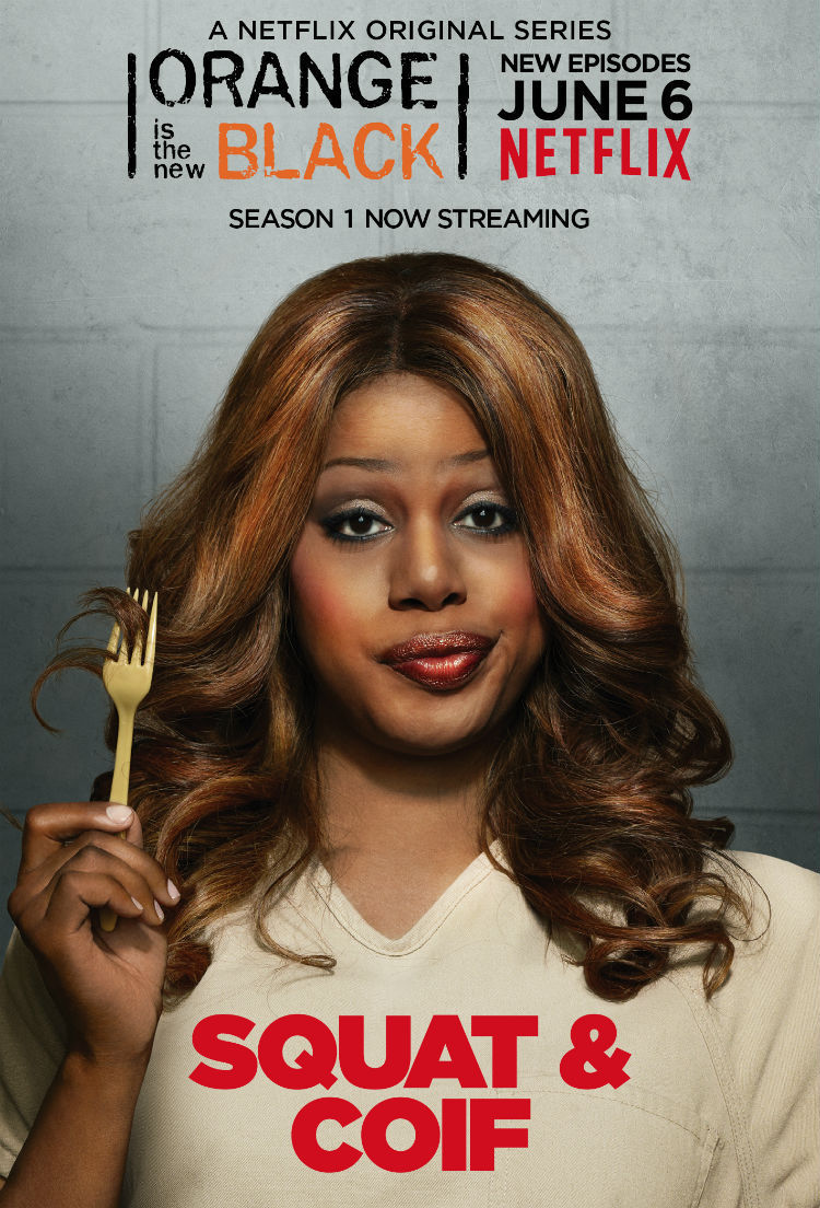 Orange Is the New Black: character poster per Laverne Cox
