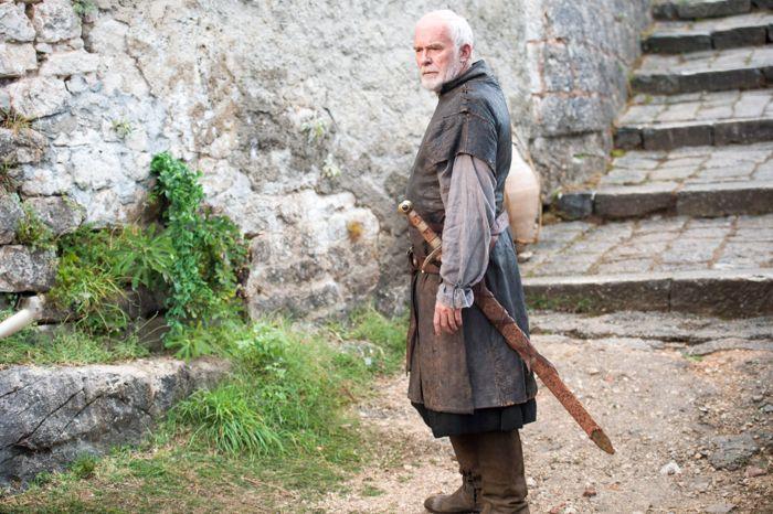 Il trono di spade: Ian McElhinney nell'episodio The Mountain and the Viper