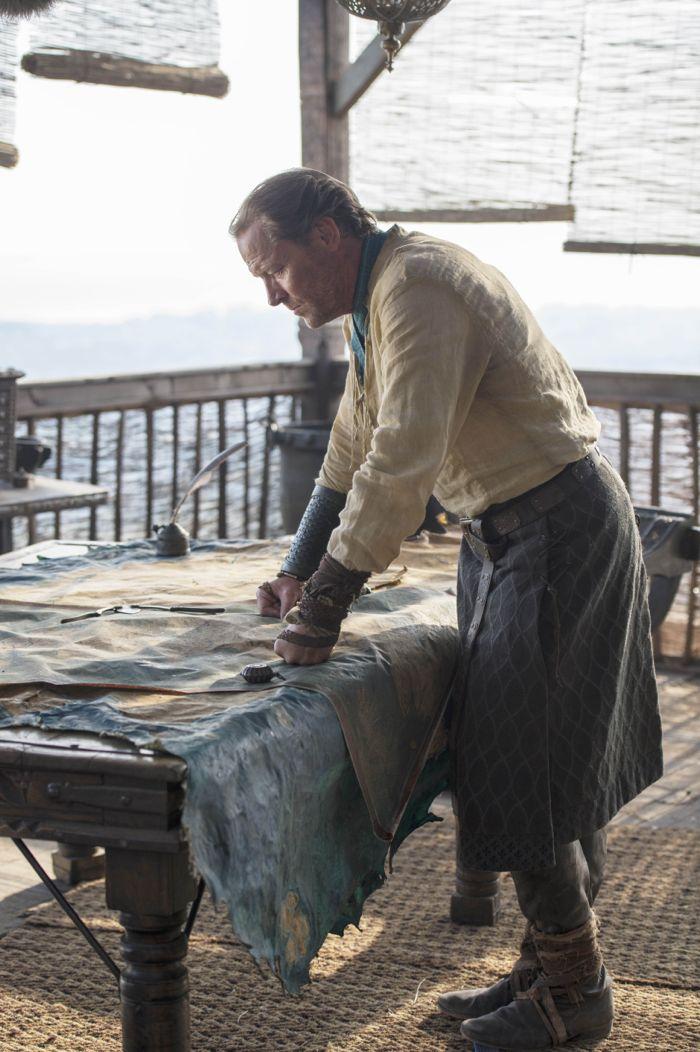 Il trono di spade: Iain Glen nell'episodio The Mountain and the Viper