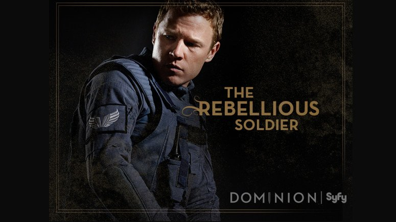 Dominion: character poster per Christopher Egan