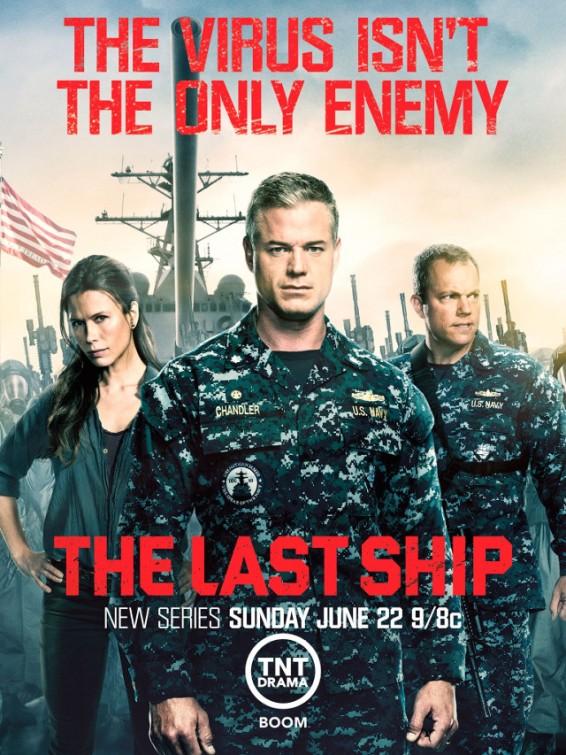 The Last Ship: manifesto promozionale per la prima stagione