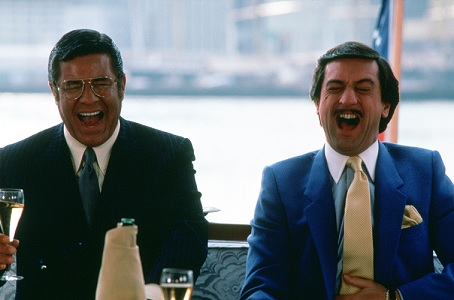 Jerry Lewis e Robert De Niro in Re per una notte