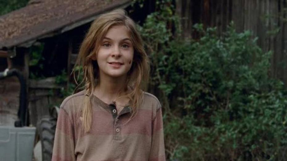 The Walking Dead: Brighton Sharbino è Lizzie nell'episodio Il bisco