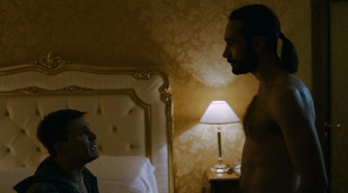 Gomorra - la serie: Marco Palvetti in una scena della prima stagione