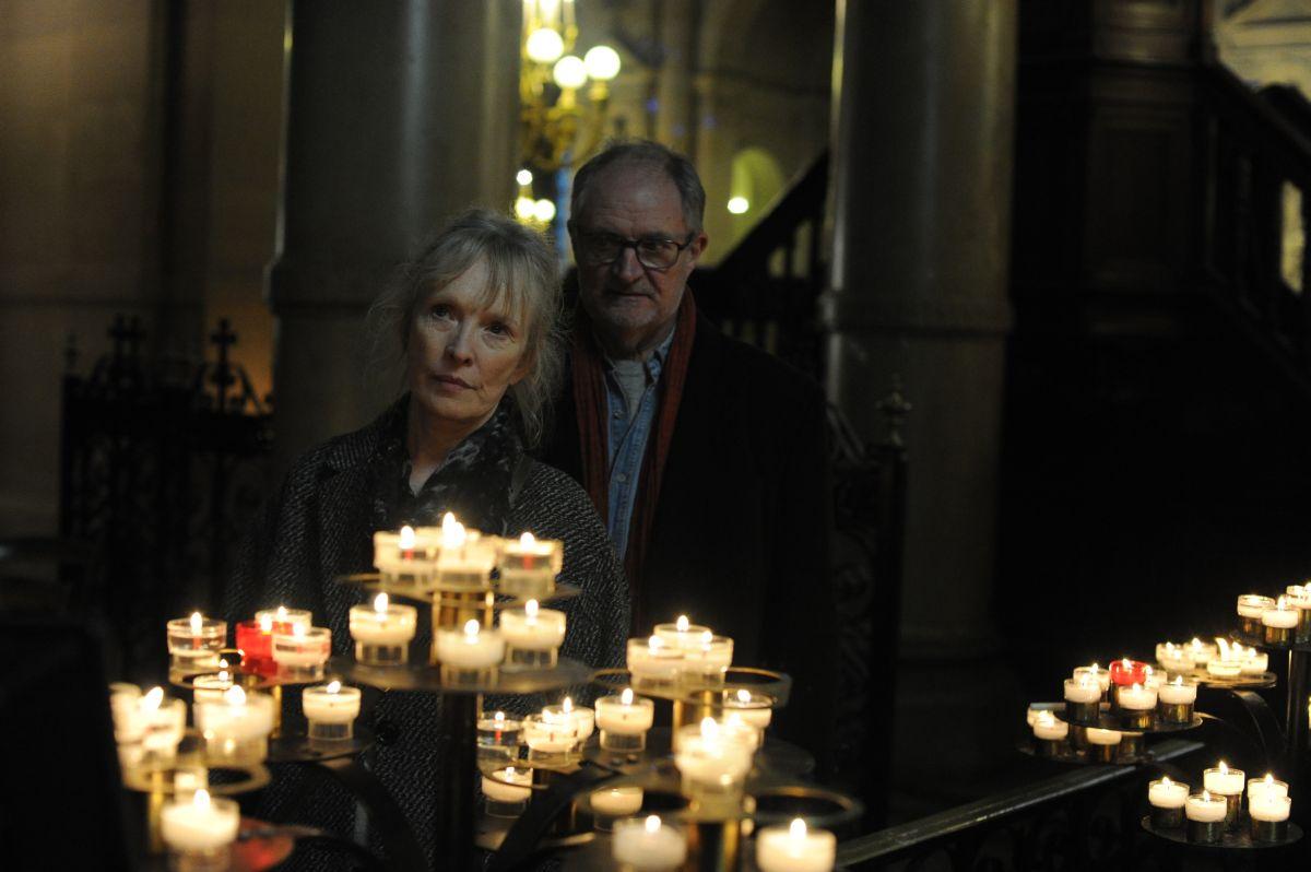 Le Week-end: Jim Broadbent e Lindsay Duncan in un'immagine del film