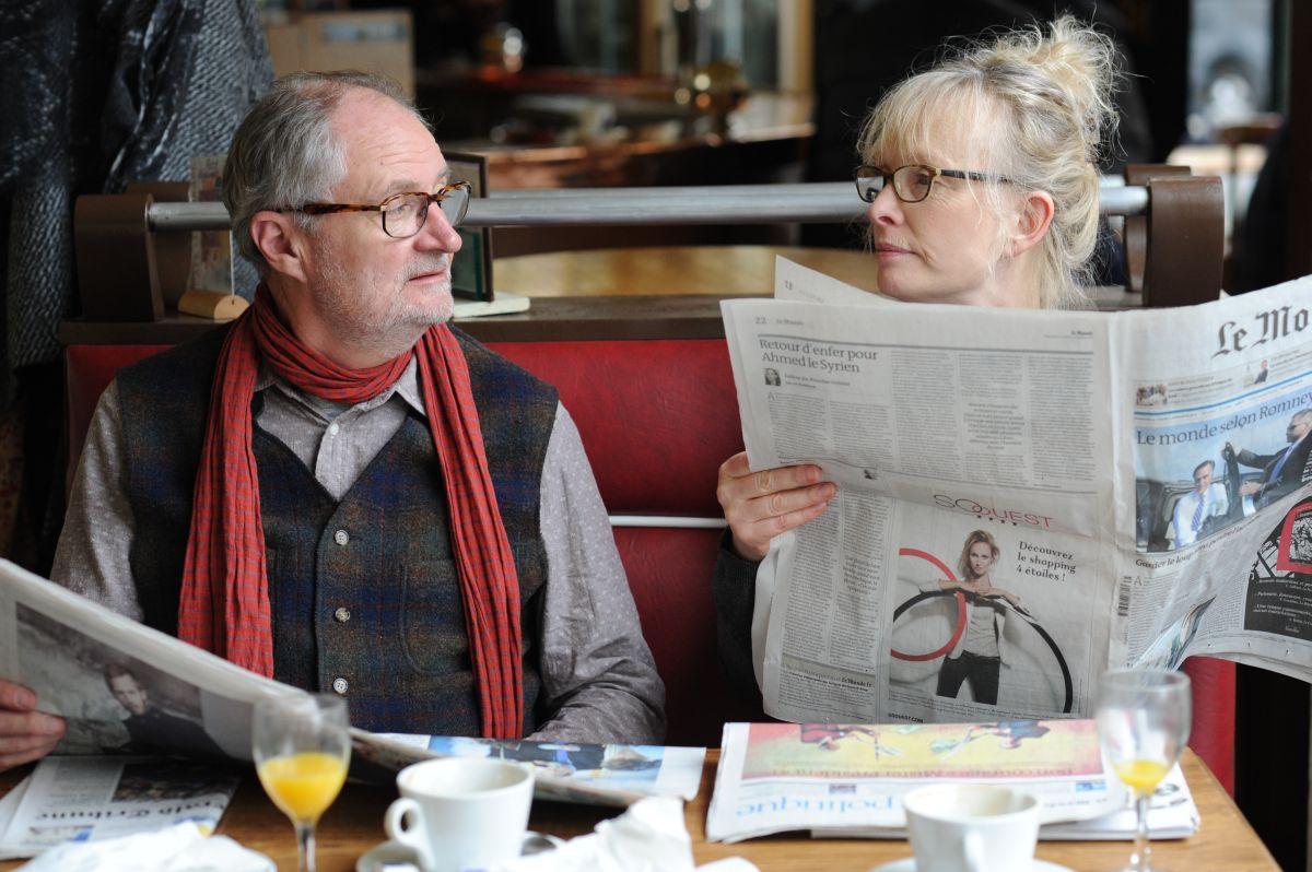 Le Week-end: Jim Broadbent e Lindsay Duncan in una scena