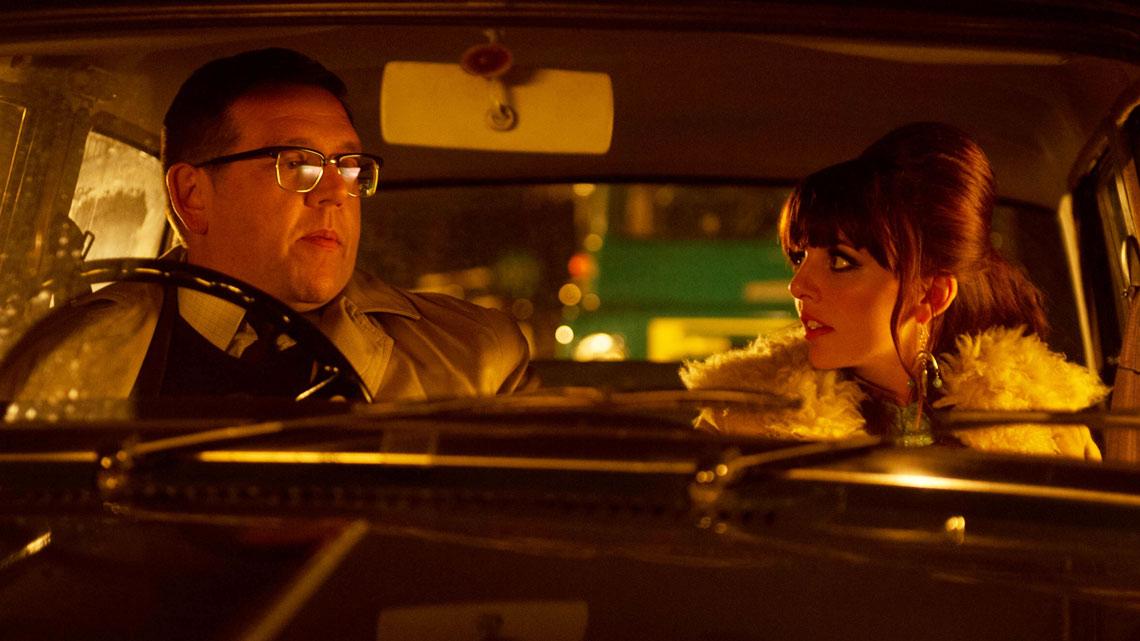 Mr. Sloane: Nick Frost insieme a Ophelia Lovibond durante una scena