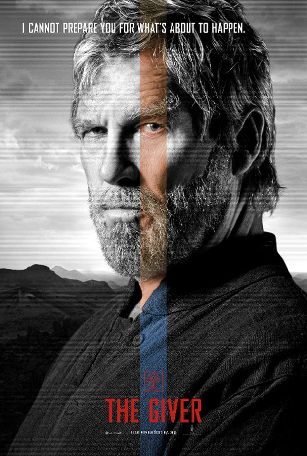 The Giver: il character poster di Jeff Bridges