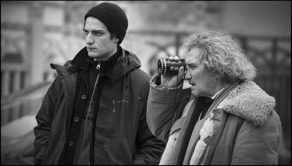 La gelosia: Louis Garrel con papà Philippe sul set