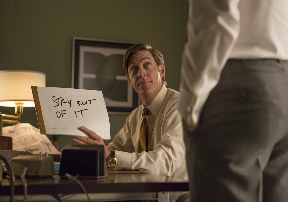 Mad Men: kevin Rahm nell'episodio  A Day's Work