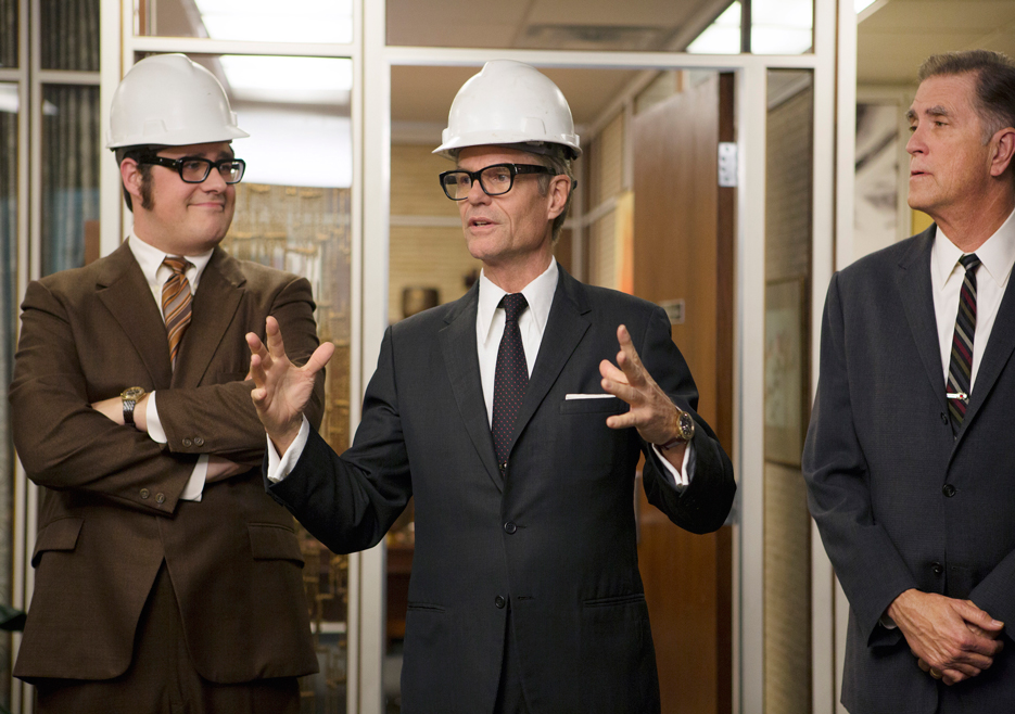 Mad Men: Harry Crane, Harry Hamlin, Allan Havey nell'episodio The Monolith