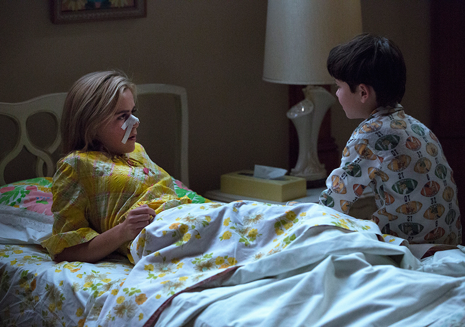 Mad Men: Kiernan Shipka e Mason Vale Cotton nell'episodio The Runaways