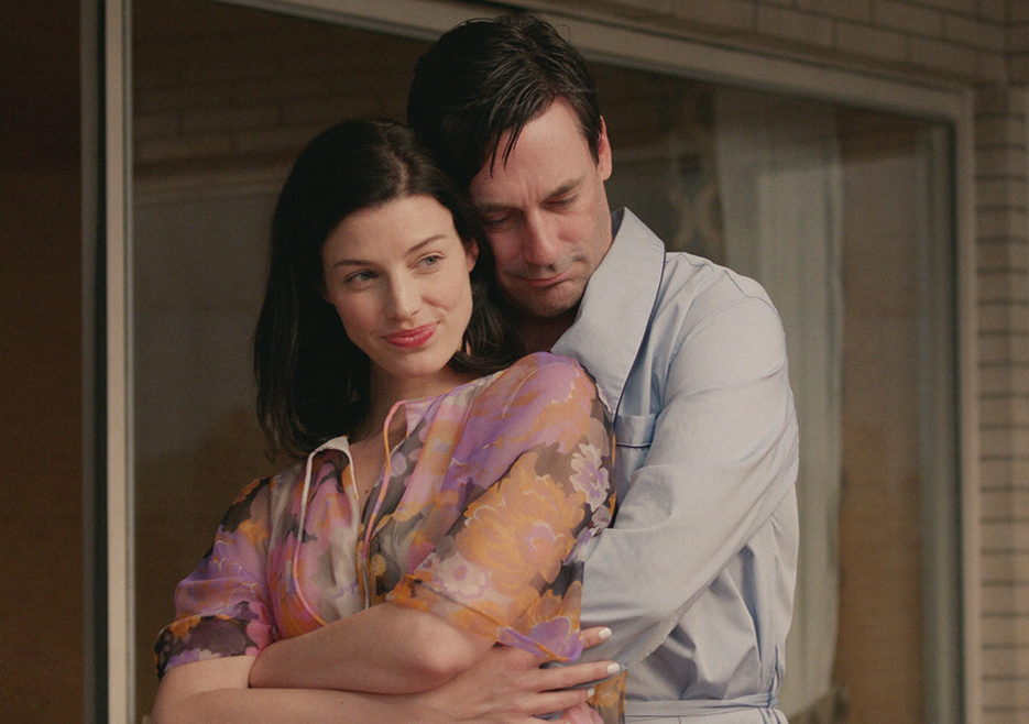 Mad Men: Jon Hamm e Jessica Paré nell'episodio The Strategy