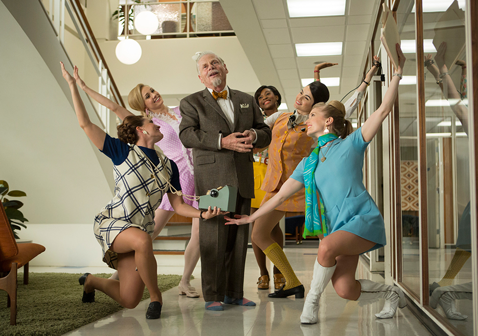 Mad Men: una scena di Waterloo con Robert Morse