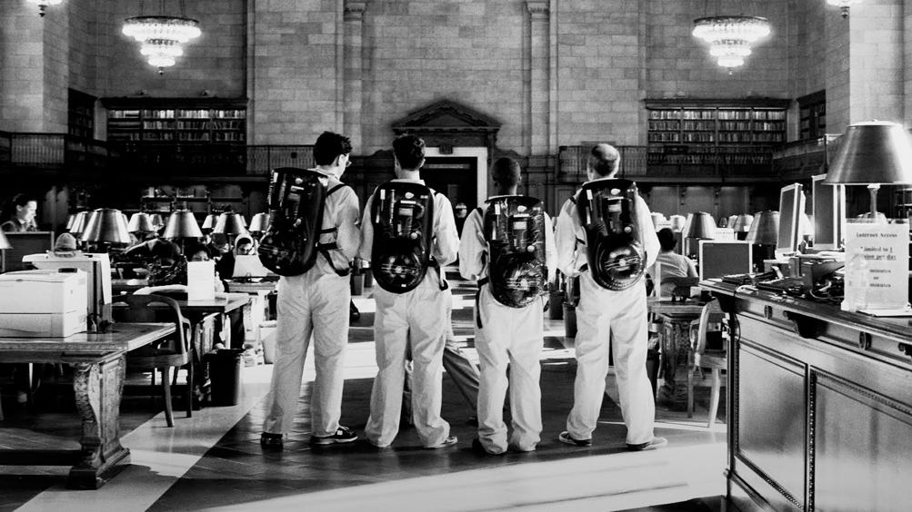 Ghostbusters in azione