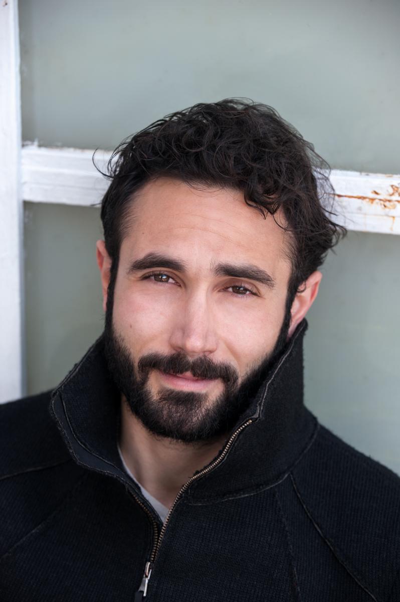 l'attore Marco Palvetti