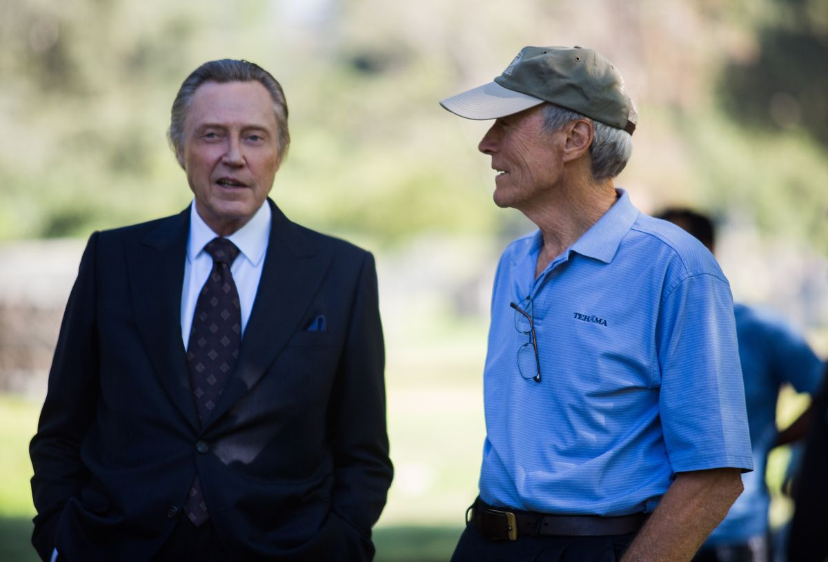 Jersey Boys: Christopher Walken con Clint Eastwood sul set