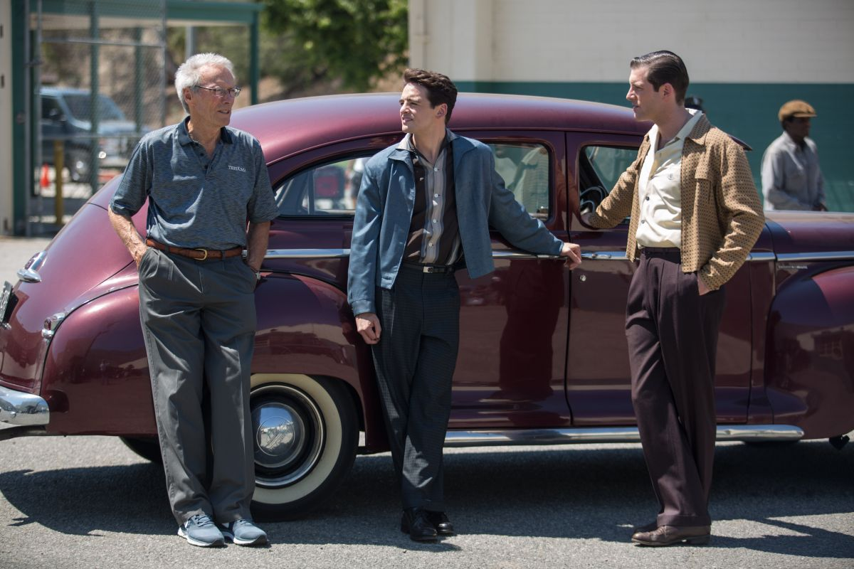 Jersey Boys: Clint Eastwood con Vincent Piazza sul set