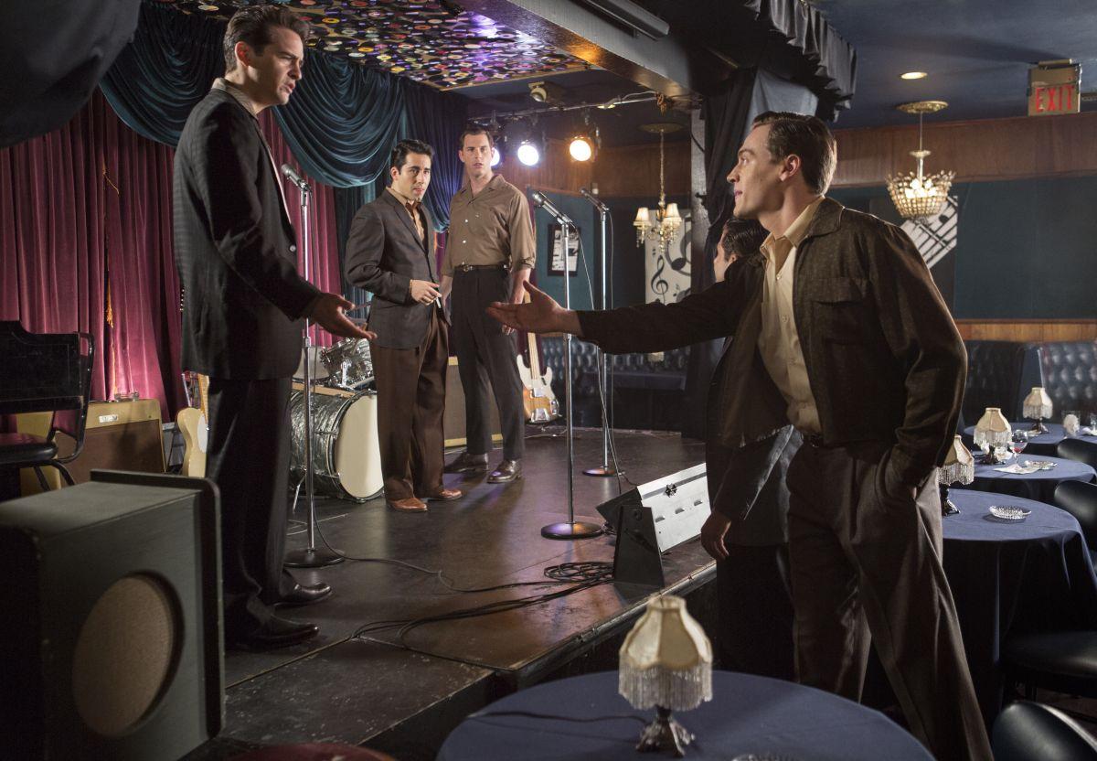 Jersey Boys: una scena tratta dal film