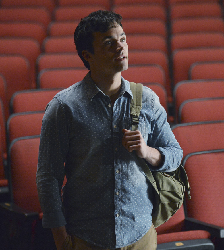 Pretty Little Liars: una scena di EscApe from New York con Ian Harding