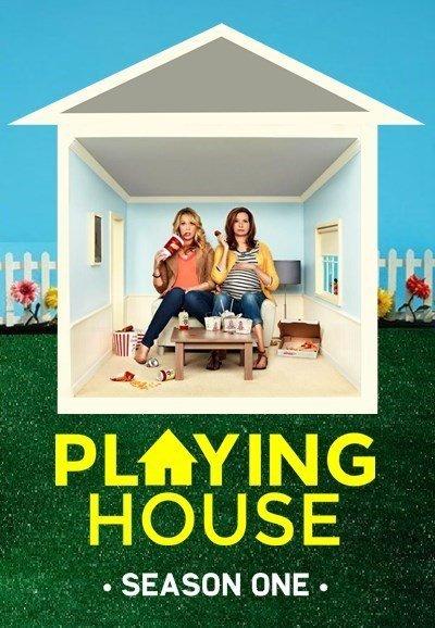 Playing House: la locandina della serie