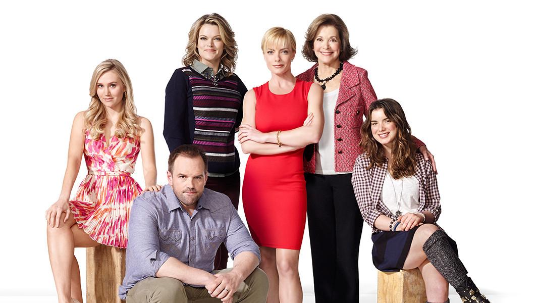 Jennifer Falls: Jaime Pressly e il resto del cast in un'immagine promozionale