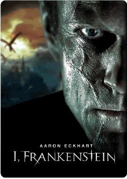 La cover della steelbook di I, Frankenstein