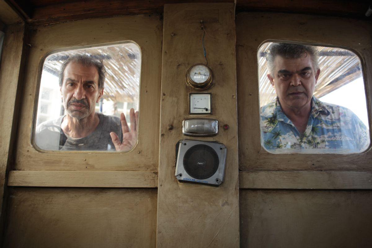 Un insolito naufrago nell'inquieto mare d'Oriente: una scena del film