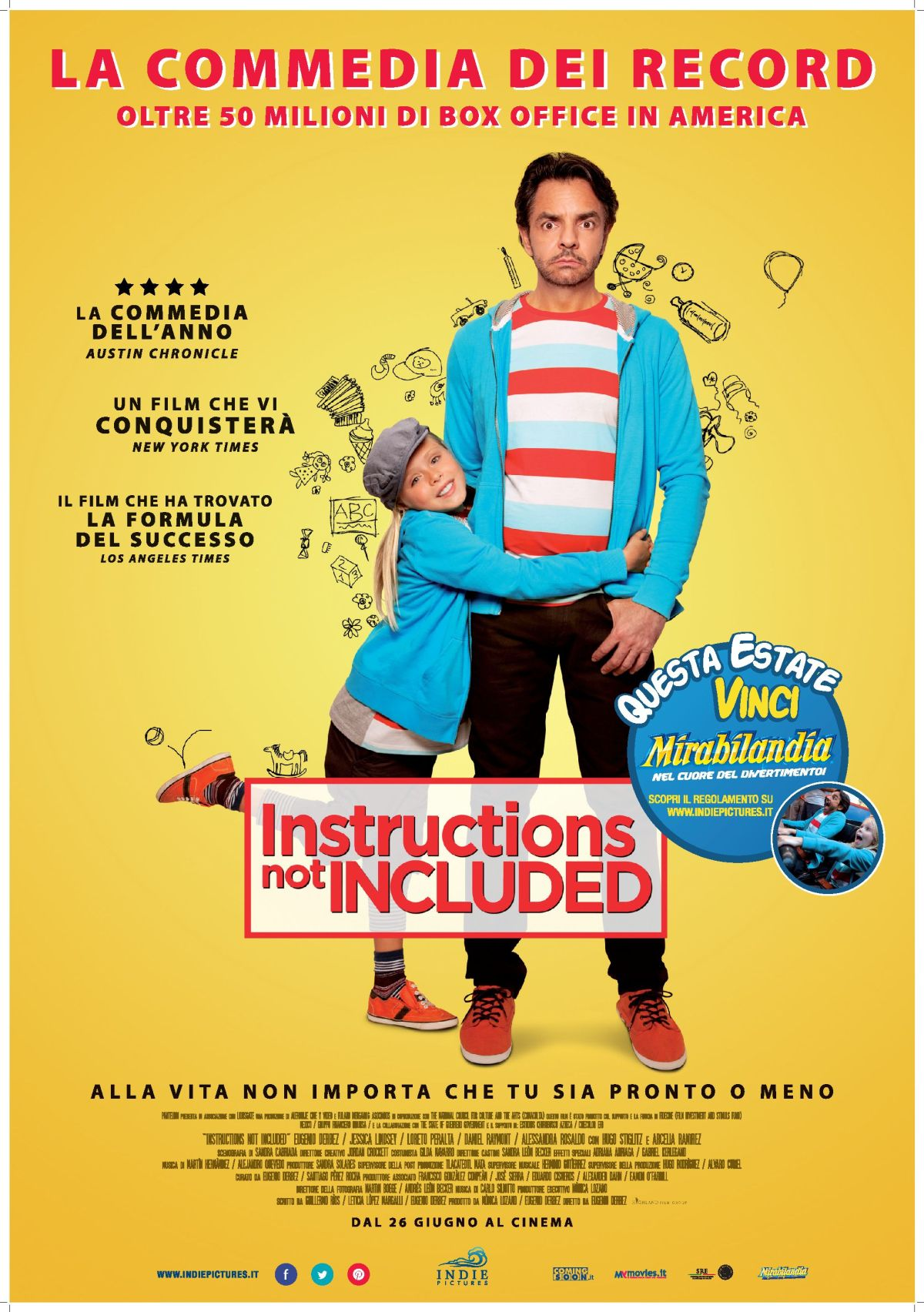 Instruction Not Included: il poster italiano