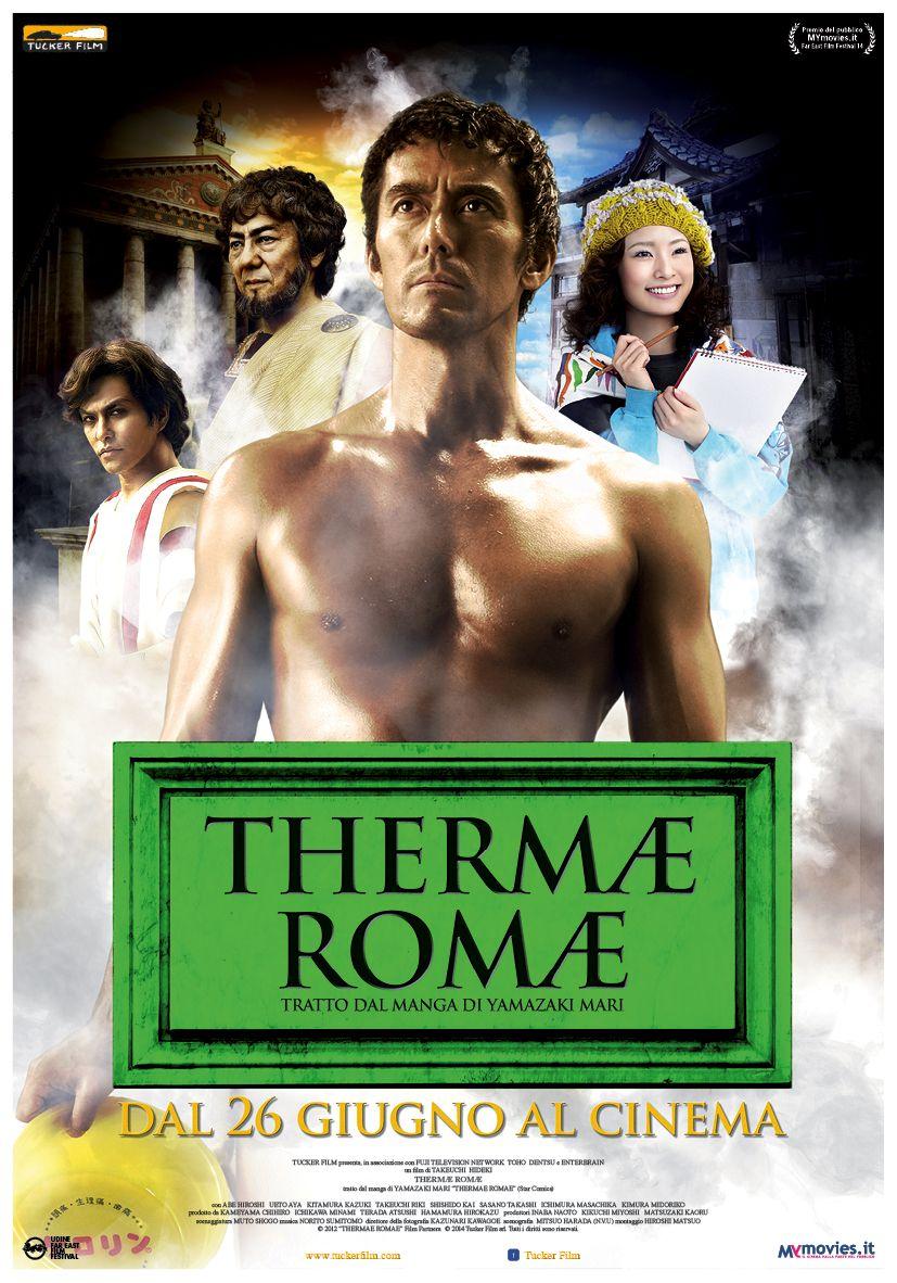 Thermae Romae: il poster italiano
