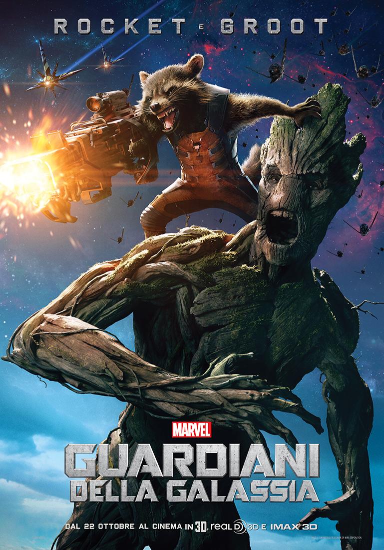 Guardiani della Galassia: il character poster italiano di Groot (voce originale di Vin Diesel)