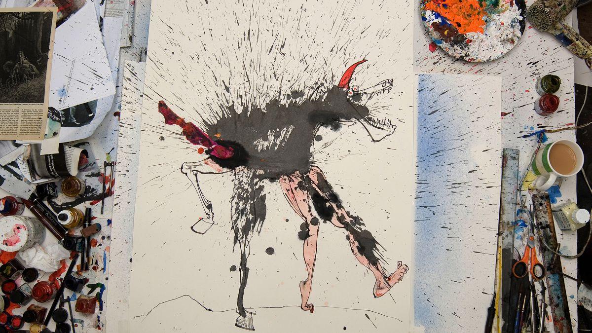 Per nessuna buona ragione: una delle opere di Ralph Steadman