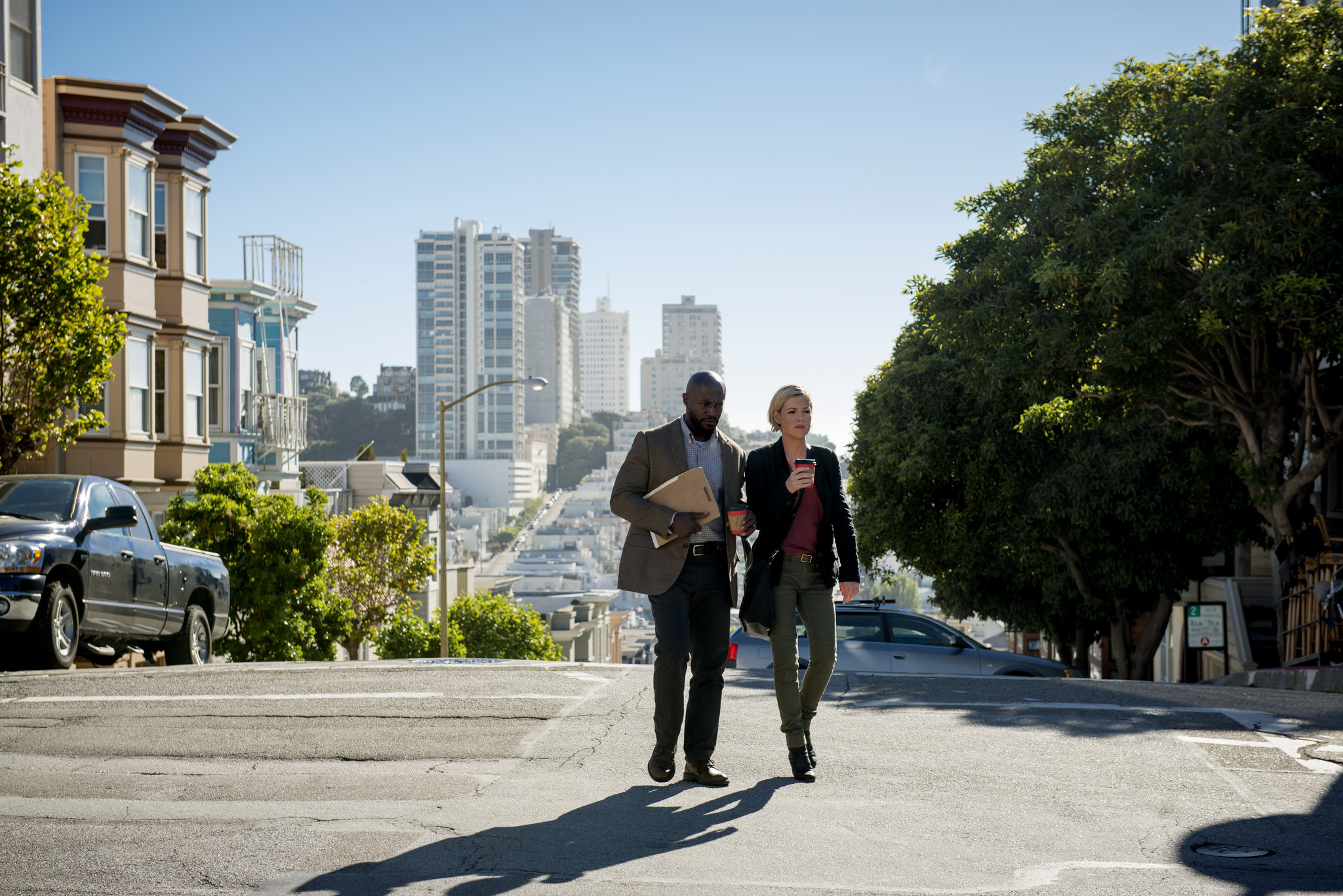 Murder in the First: Taye Diggs e Kathleen Robertson nel pilot