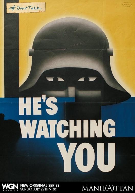 Manhattan: un poster promozionale della serie