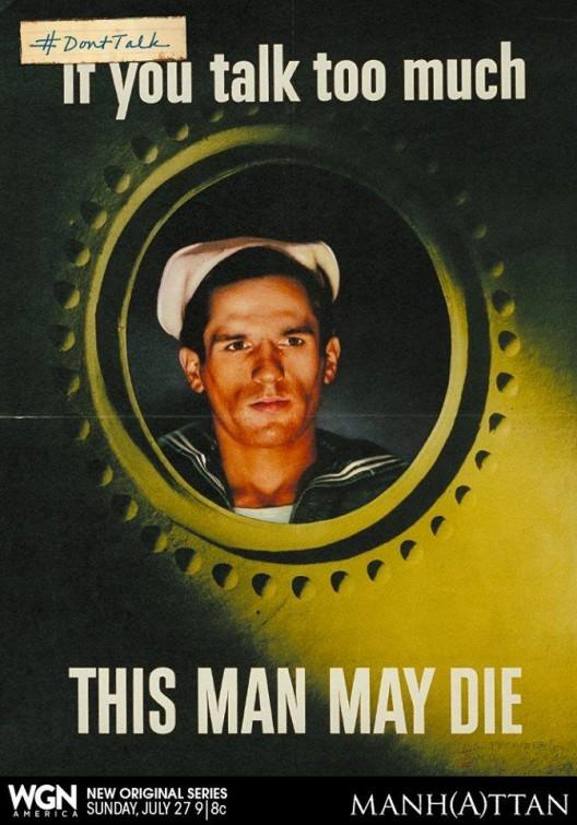 Manhattan: un nuovo poster promozionale della serie