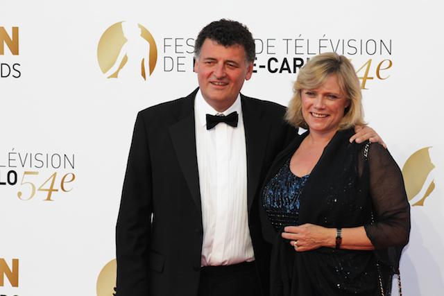 Steven Moffat all'edizione 2014 del Festival della Televisione di Montecarlo