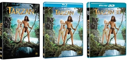 Le cover homevideo di Tarzan