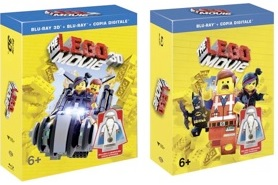 le cover homevideo di The Lego Movie