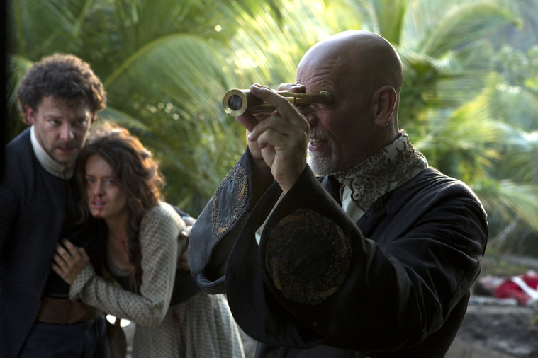Crossbones: Richard Coyle e John Malkovich in The Man Who Killed Blackbeard