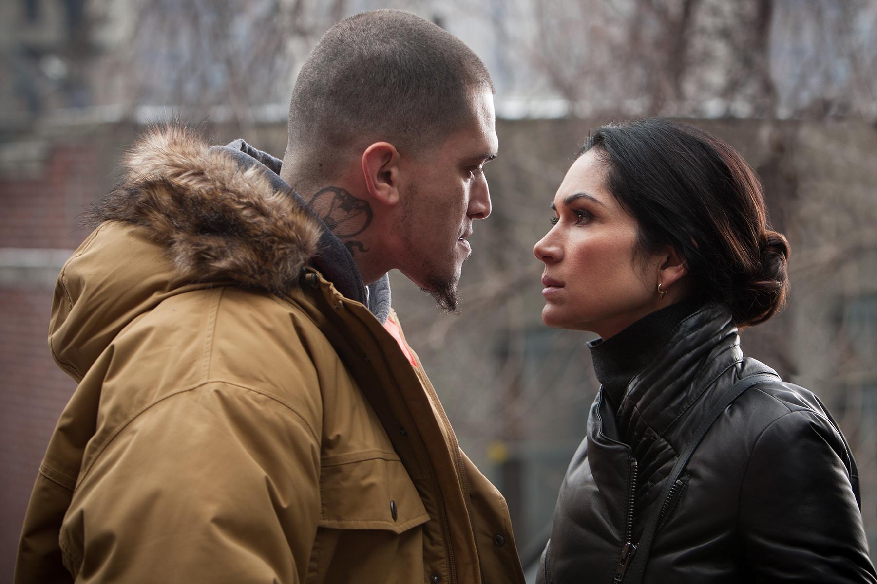 Power: Lela Loren e Vicnius Machado in una scena