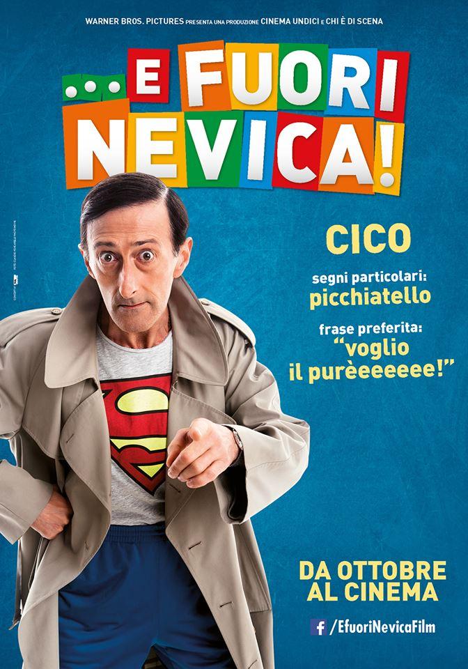 ...E fuori nevica!: il character poster di Cico (Nando Paone)