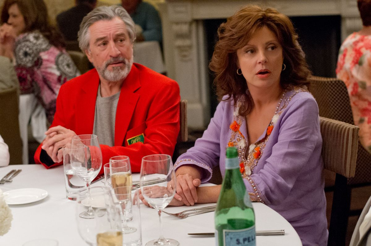 Big Wedding: Robert De Niro insieme a Susan Sarandon in una scena del film