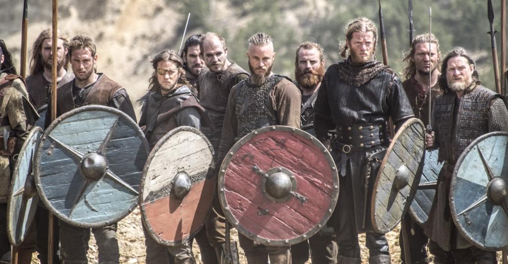 Vikings: una scena di battaglia nell'episodio Brother's War