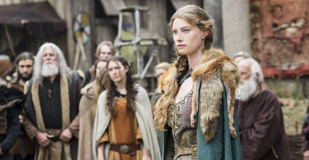 Vikings: Alyssa Sutherland nell'episodio Answers in Blood
