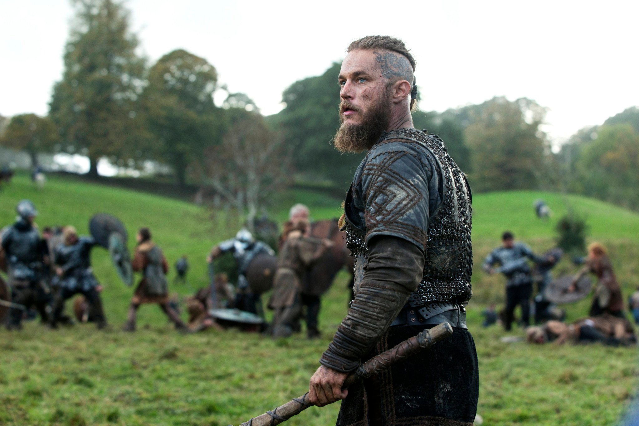 Vikings: Travis Fimmel nell'episodio The Choice