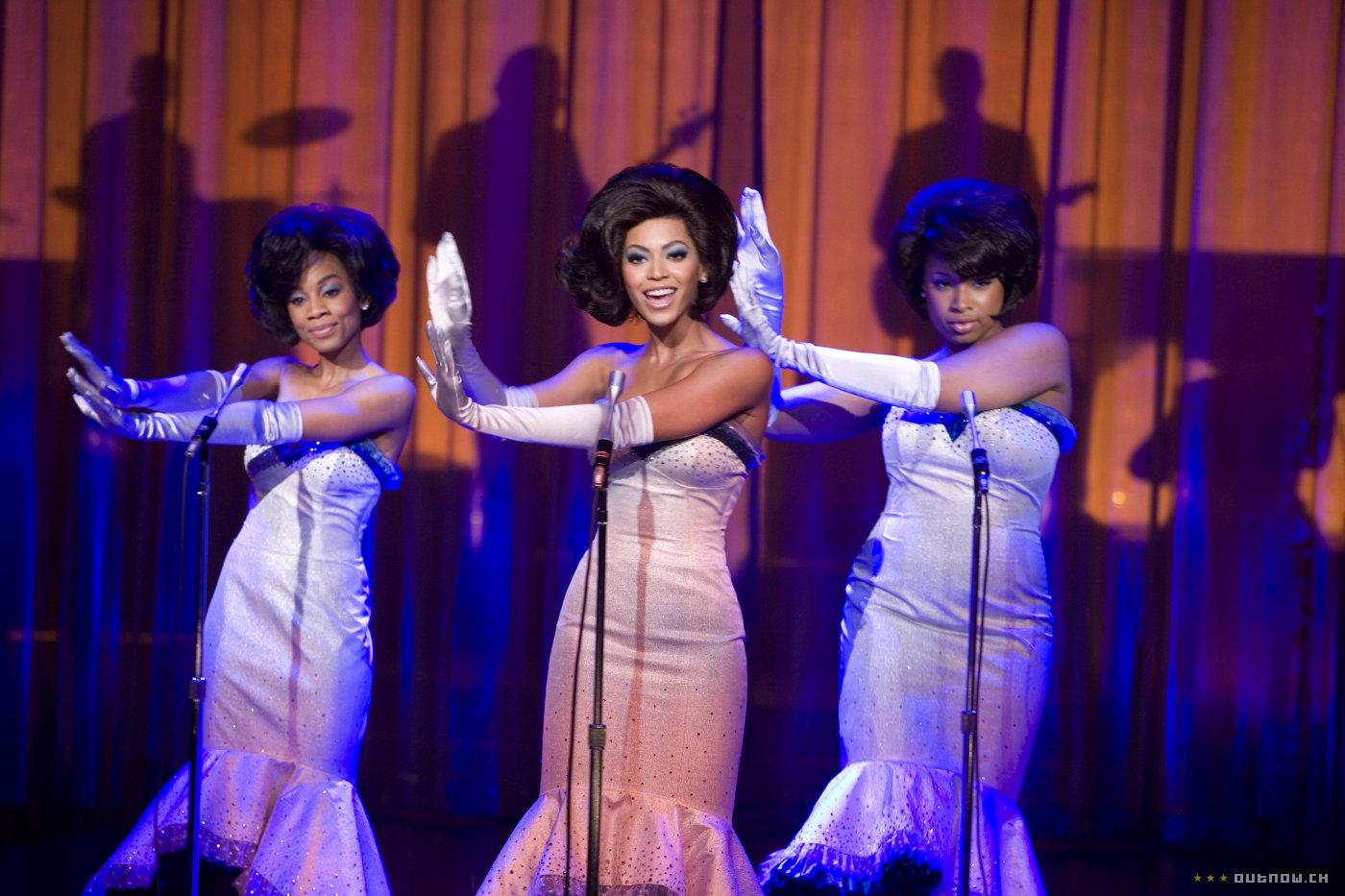 Anika Noni Rose, Beyoncé Knowles e Jennifer Hudson in una scena di Dreamgirls