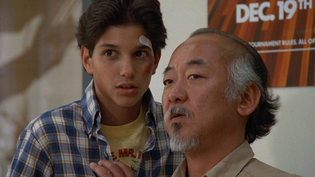 Karate Kid, una scena del film di John G. Avildsen