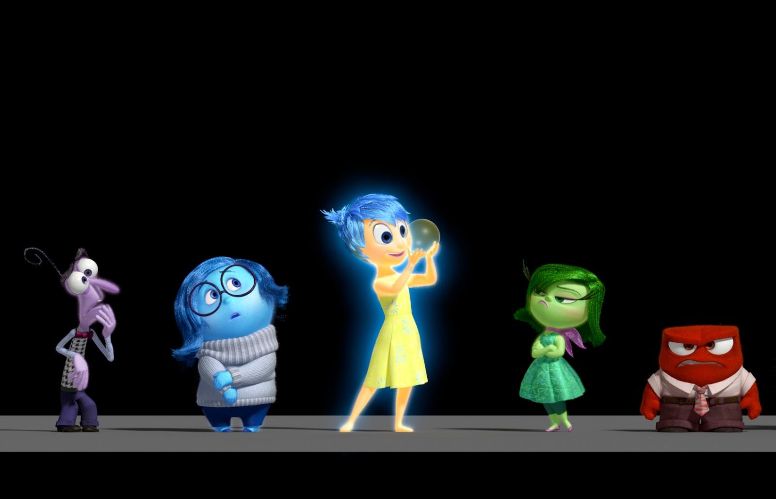 Inside Out: la prima immagine del nuovo film Pixar