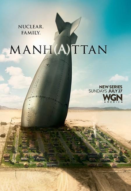 Manhattan: una locandina per la prima stagione della serie